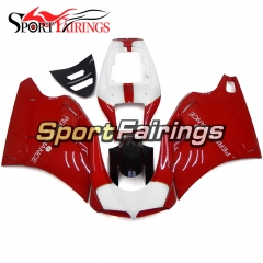 Fairing Kit Fit For Ducati 996/748/916/998 Biposto 1996 - 2002 - Red White Black