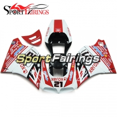 Fairing Kit Fit For Ducati 996/748/916/998 Monoposto 1996 - 2002 - Gloss Red White