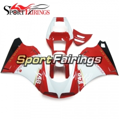 Fairing Kit Fit For Ducati 996/748/916/998 Biposto 1996 - 2002 - Gloss Red White