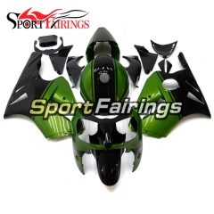 Fairing Kit Fit For Kawasaki ZX12R 2000 2001 -Green Black