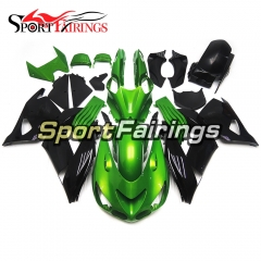 Fairing Kit Fit For Kawasaki ZX-14R /ZZ-R1400 2006 - 2011  -Pearl Green Black
