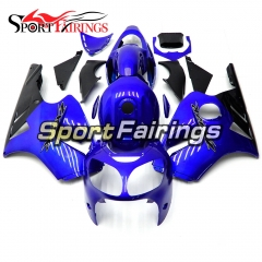 Fairing Kit Fit For Kawasaki ZX12R 2000 2001 -Blue Black