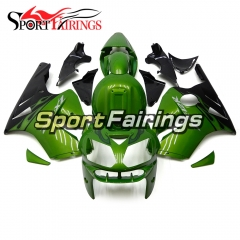 Fairing Kit Fit For Kawasaki ZX12R 2002 - 2006 -Green Black