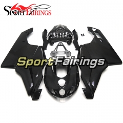 Carbon Fiber Look Fairing Kit Fit For Ducati 999/749 2005 - 2006 -  Black