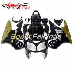 Fairing Kit Fit For Kawasaki ZX12R 2000 2001 -Gold Black
