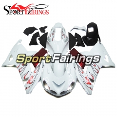 Fairing Kit Fit For Kawasaki ZX-14R /ZZ-R1400 2006 - 2011  -White Red