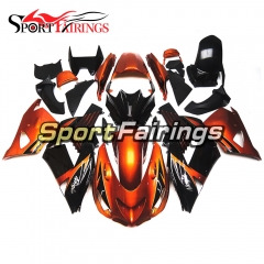 Fairing Kit Fit For Kawasaki ZX-14R /ZZ-R1400 2006 - 2011  -Pearl Orange Black