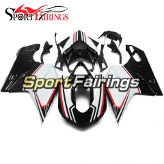Fairing Kit Fit For Ducati 1098/1198/848 2007 - 2012 - White Black