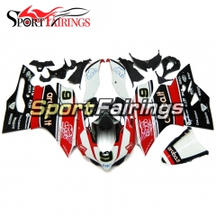 Fairing Kit Fit For Ducati 899/1199 2012 - 2013 - Red Black