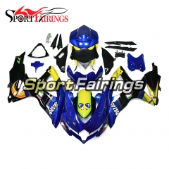 Fairing Kit Fit For Suzuki GSXR600 750 2008 - 2010 - Shark Blue
