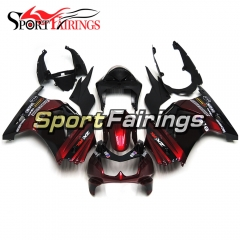 Fairing Kit Fit For Kawasaki EX250R / Ninja 250 2008 - 2012  -Elf Red Black
