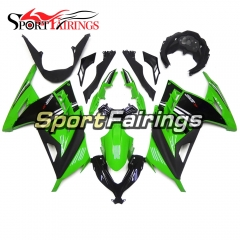 Fairing Kit Fit For Kawasaki EX300R / Ninja 300 2013 - 2015  -Green Black