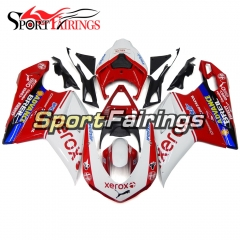 Fairing Kit Fit For Ducati 1098/1198/848 2007 - 2012 - White Red