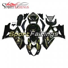 Fairing Kit Fit For Suzuki GSXR1000 K7 2007 - 2008 - Black Gold