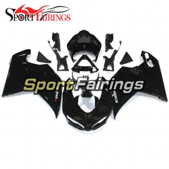 Fairing Kit Fit For Ducati 1098/1198/848 2007 - 2012 - Shinny Black