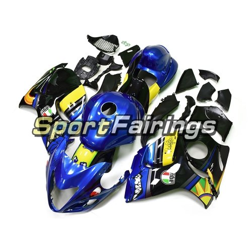 Fairing Kit Fit For Suzuki GSXR1300 Hayabusa 2008 - 2016 - Shark Blue