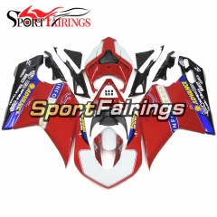 Fairing Kit Fit For Ducati 1098/1198/848 2007 - 2012 - Red Blue
