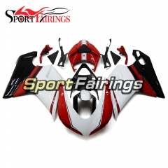 Fairing Kit Fit For Ducati 1098/1198/848 2007 - 2012 - White Red Black