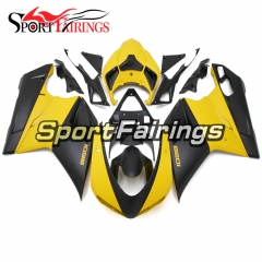 Fairing Kit Fit For Ducati 1098/1198/848 2007 - 2012 - Yellow Black