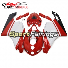 Fairing Kit Fit For Ducati 999/749 2005 - 2006 - Gloss Red White