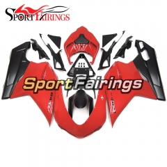 Fairing Kit Fit For Ducati 1098/1198/848 2007 - 2012 - Red Black