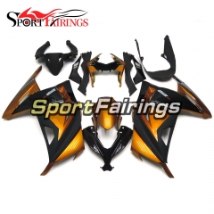 Fairing Kit Fit For Kawasaki EX300R / Ninja 300 2013 - 2015  -Gold Black