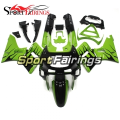 Fairing Kit Fit For Kawasaki ZZR400  1993 - 2007-Green Black Flame