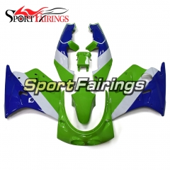 Fairing Kit Fit For Kawasaki ZXR250 1989 1990 - Green White Blue