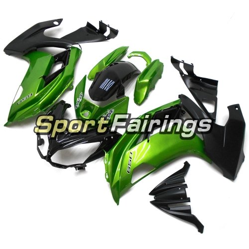Fairing Kit Fit For Kawasaki ER-6F / Ninja 650r 2012 - 2016 Pearl Green Black