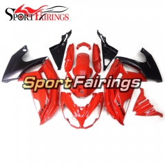 Fairing Kit Fit For Kawasaki ER-6F / Ninja 650r 2012 - 2016 Red Black