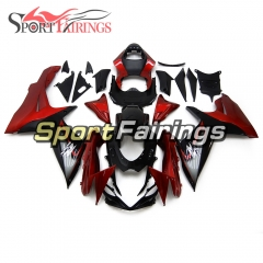 Fairing Kit Fit For Suzuki GSXR600 750 K11 2011 - 2016 - Red Black