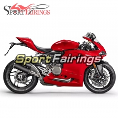 Fairing Kit Fit For Ducati 959 2017 - Red