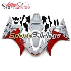 Fairing Kit Fit For Yamaha YZF R6 2003 2004 R6S 06 - 09 -  White Red