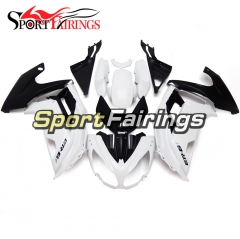 Fairing Kit Fit For Kawasaki ER-6F / Ninja 650r 2012 - 2016 White Black