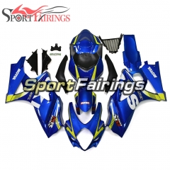 Fairing Kit Fit For Suzuki GSXR1000 K7 2007 - 2008 - Blue Yellow
