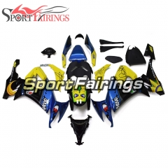Fairing Kit Fit For Kawasaki ZX10R 2008 - 2010 - Shark Blue