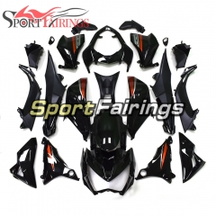 Fairing Kit Fit For Kawasaki Z800 2013 - 2016 - Gloss Black Orange