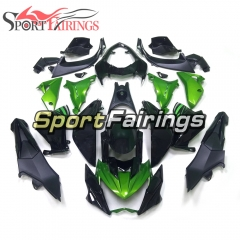 Fairing Kit Fit For Kawasaki Z800 2013 - 2016 - Black Green