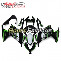 Fairing Kit Fit For Kawasaki EX300R / Ninja 300 2013 -  2015  - White Green Black