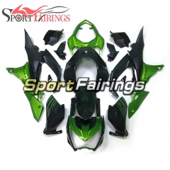 Fairing Kit Fit For Kawasaki Z800 2013 - 2016 - Green Black