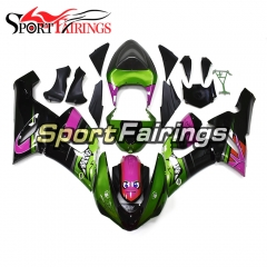 Fairing Kit Fit For Kawasaki ZX6R 2005 - 2006 - Shark Design Green