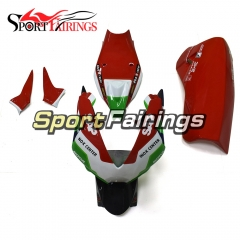 Firberglass Fairing Kit Fit For Aprilia RSV4 1000 2010 - 2015 - Red Green White