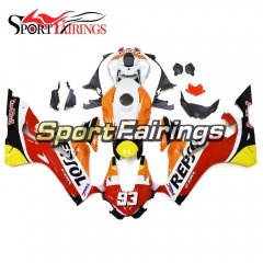 Fairing Kit Fit For Honda CBR1000RR 2017 -  Orange Red White