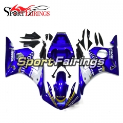 Fairing Kit Fit For Yamaha YZF R6 2003 2004 R6S 06 - 09 -  Blue White
