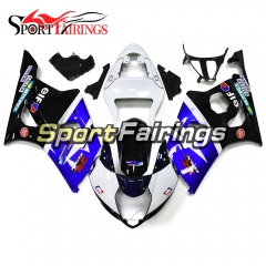Fairing Kit Fit For Suzuki GSXR1000 K3 2003 - 2004 -  Blue White