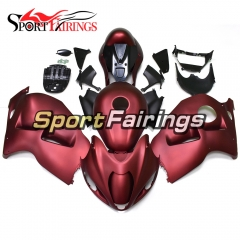 Fairing Kit Fit For Suzuki GSXR1300 Hayabusa 1997 - 2007 - Matte Red Black