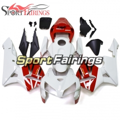 Fairing Kit Fit For Honda CBR600RR F5 2005 - 2006 - Red White