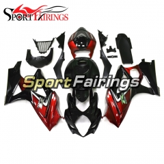 Fairing Kit Fit For Suzuki GSXR1000 K7 2007 - 2008 - Orange Black