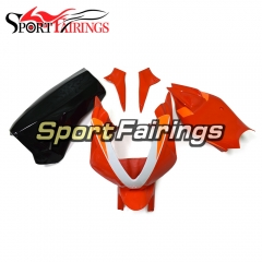 Firberglass Fairing Kit Fit For Aprilia RSV4 1000 2010 - 2015 - Orange Black