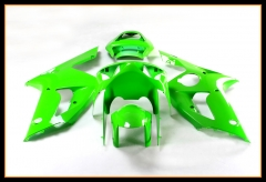 Complete Cowlings For 2003 2004 Kawasaki ZX6R Green